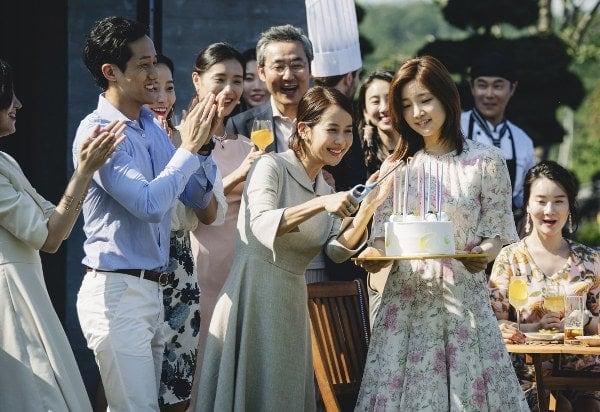 La fête d'anniversaire dans Parasite de Bong Joon-ho