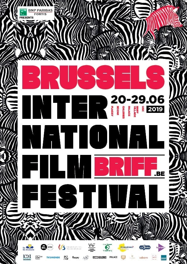 Affiche du BRIFF 2019, Brussels International Film Festival