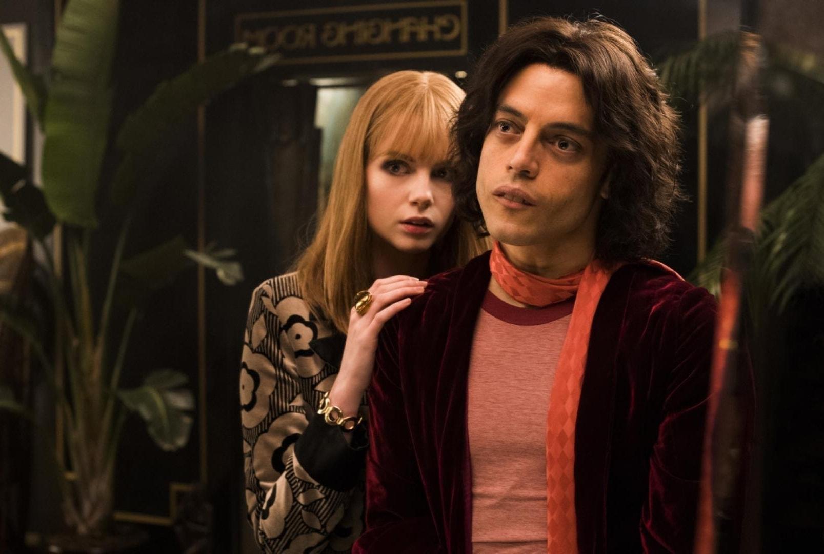 Rami Malek et Lucy Boynton dans Bohemian Rhapsody