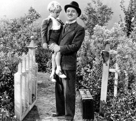 Verdoux et Peter dans Monsieur Verdoux de Charlie Chaplin