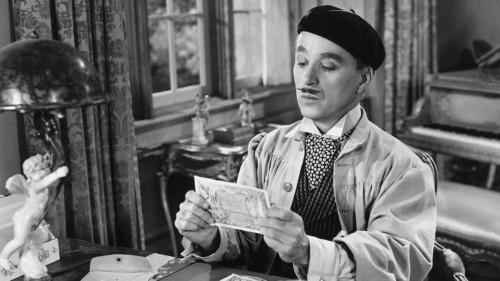 Monsieur Verdoux et l'argent dan le film de Charlie Chaplin