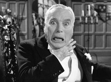 Charlie Chaplin dans Un roi à New York