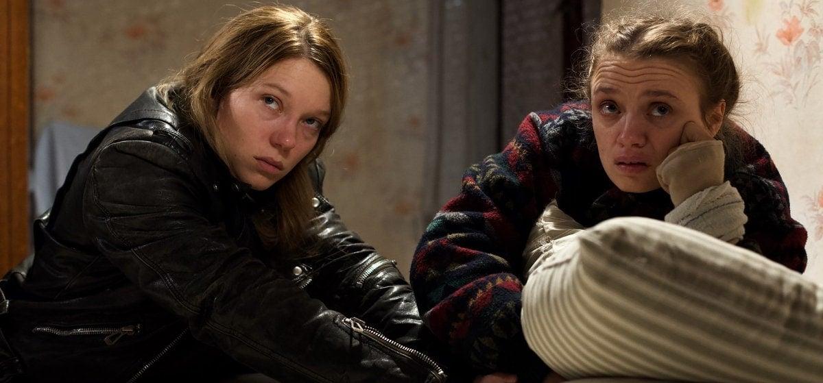 Léa Seydoux et Sara Forestier dans Roubaix, une lumière