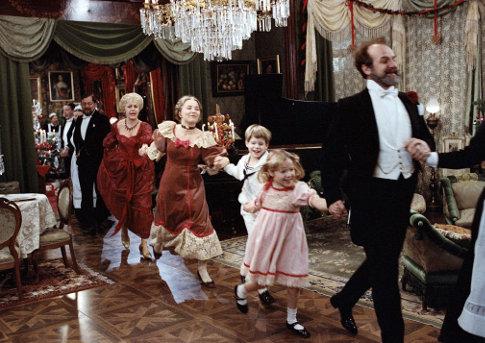 La fête de famille dans Fanny et Alexandre