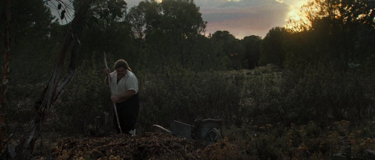 Un paysan au lever du soleil dans Liberté