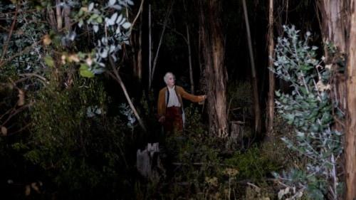 Helmut Berger dans la forêt de Liberté