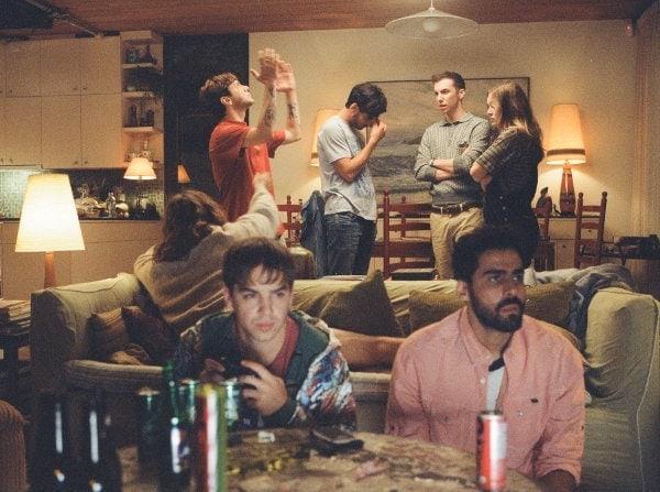 La bande d'amis de Matthias et Maxime