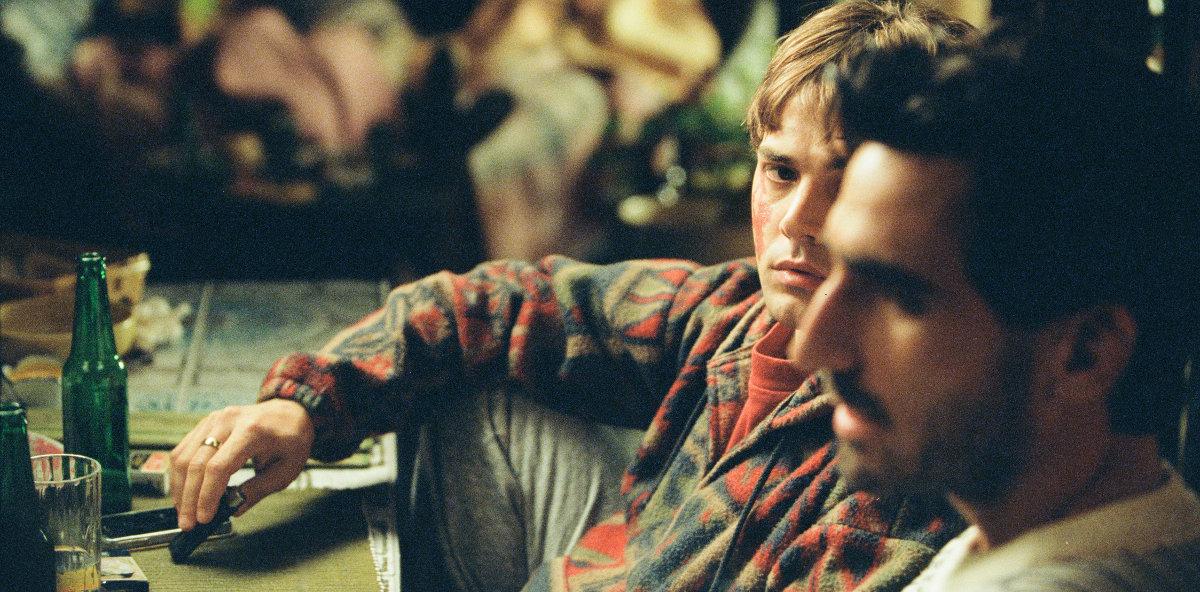 Matthias (Gabriel D'Almeida Freitas) et Maxime (Xavier Dolan) durant la scène finale.