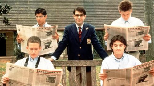 Jason Schwartzman à l'école dans Rushmore