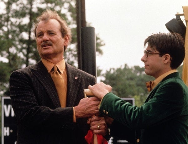 Jason Schwartzman et Bill Murray dans Rushmore
