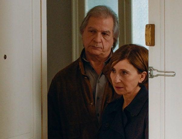 Ariane Ascaride et Gérard Meylan dans Gloria Mundi