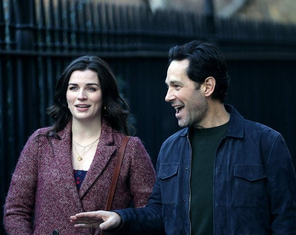 Paul Rudd et Aisling Bea dans Living with Yourself