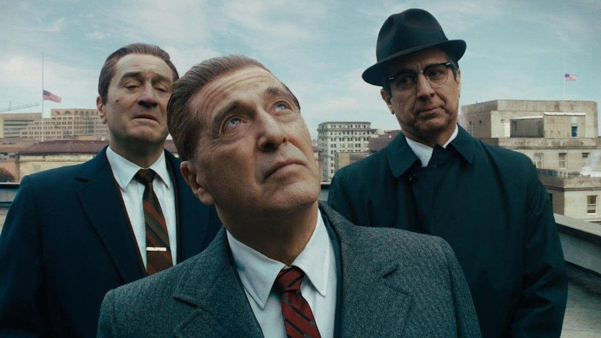 Robert De Niro et Al Pacino dans The Irishman