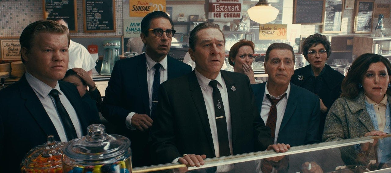 Les gangsters de The Irishman