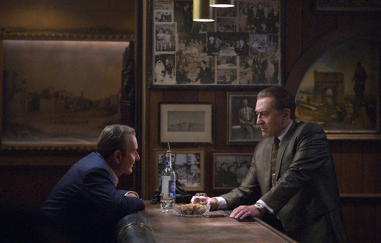 Robert De Niro en gangster dans The Irishman
