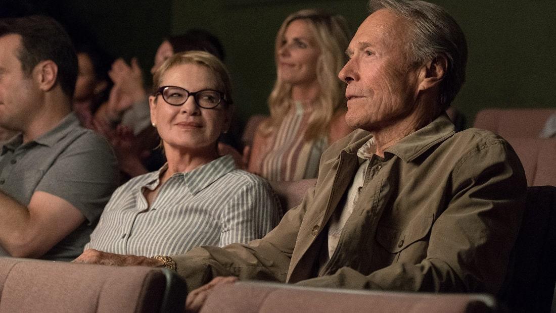 Clint Eastwood au cinéma dans La Mule