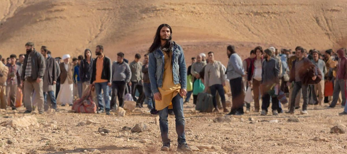 Mehdi Dehbi dans Messiah de Netflix