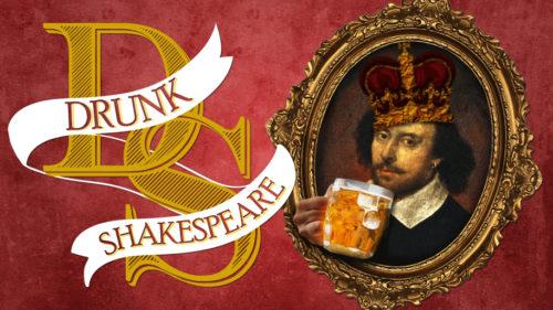 "Le concept ""Drunk Shakespeare"""