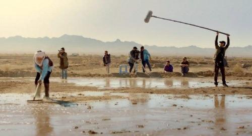 Le tournage de Feuille de vie