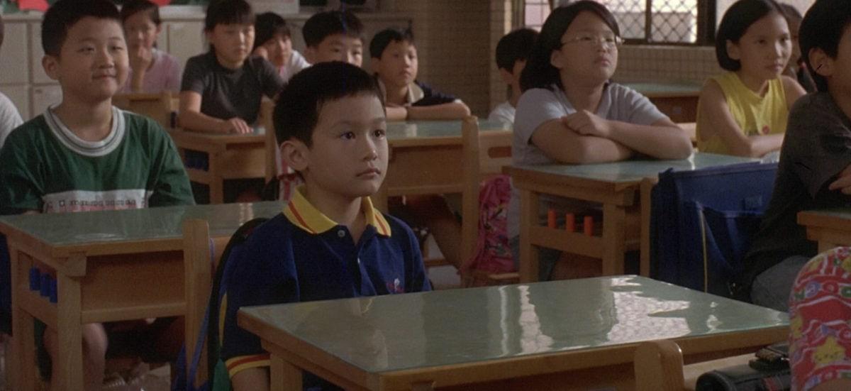 Yang Yang (Jonathan Chang) à l'école dans Yi Yi