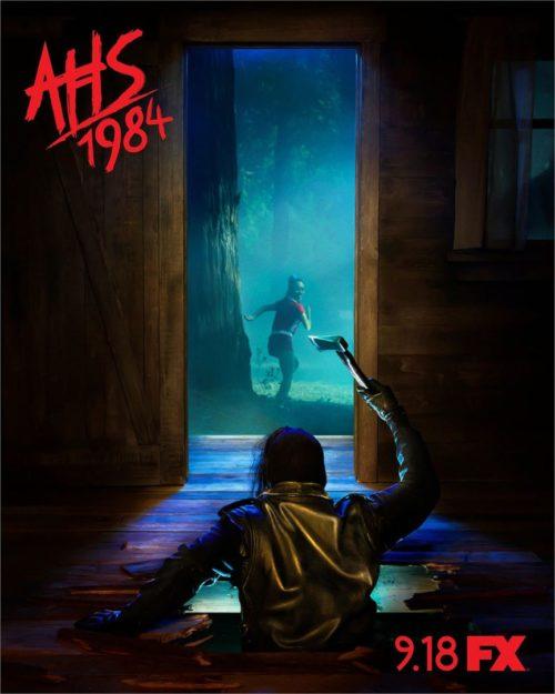 Le poster de la saison 9 de American Horror Story 1984