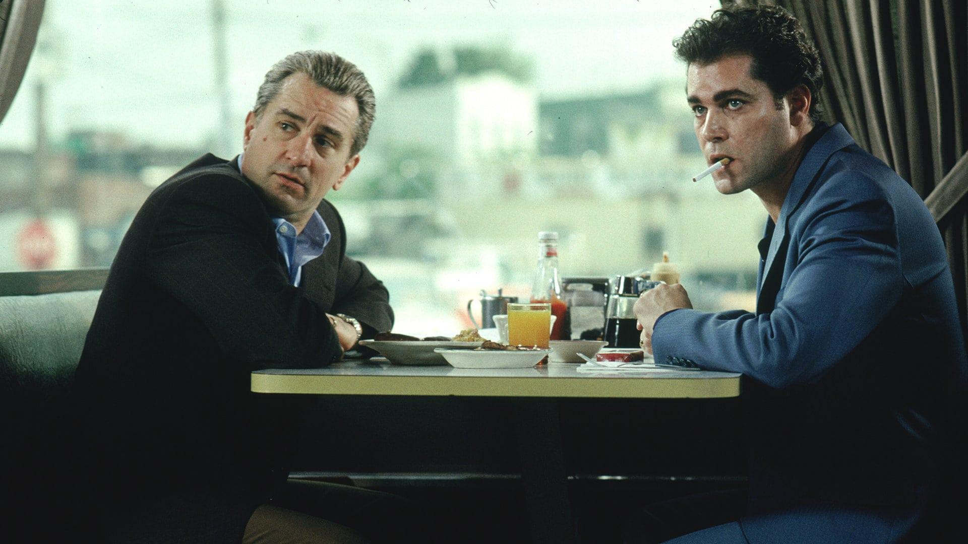 Robert De Niro et Ray Liotta dans Les Affranchis