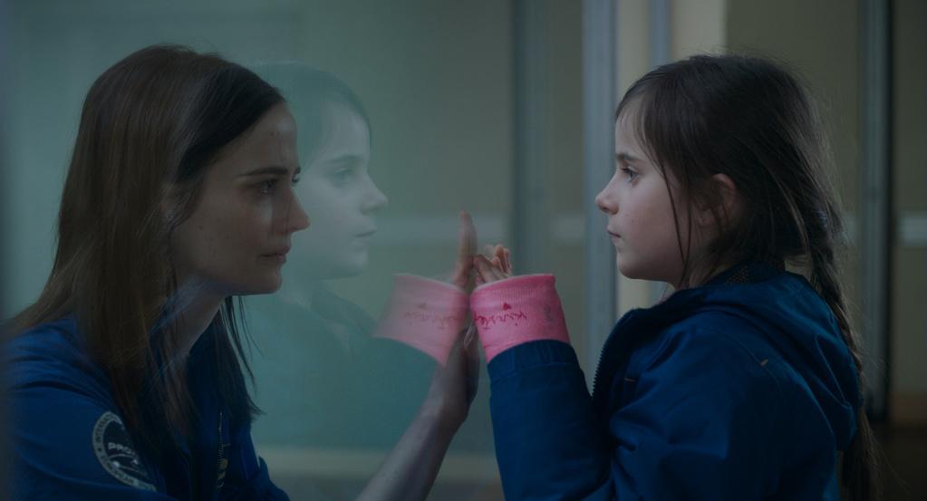 Eva Green et Zélie Boulant dans Proxima d'Alice Winocour