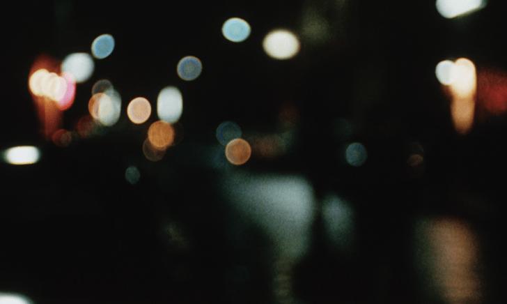 Nuit colorée dans Quatre nuits d'un rêveur de Robert Bresson