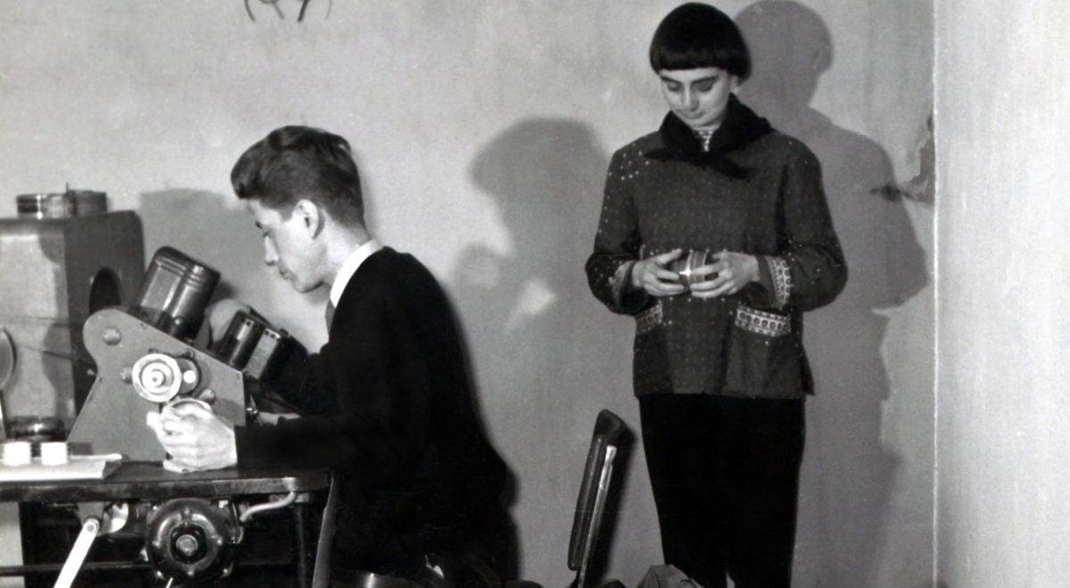 Agnès Varda et Alain Resnais dans Varda par Agnès