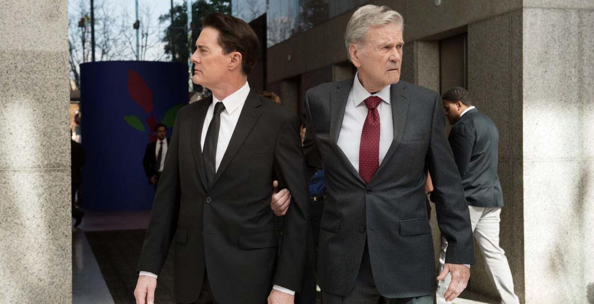 Dougie Jones (Kyle MacLachlan) et le patron des assurances dans Twin Peaks : The Return