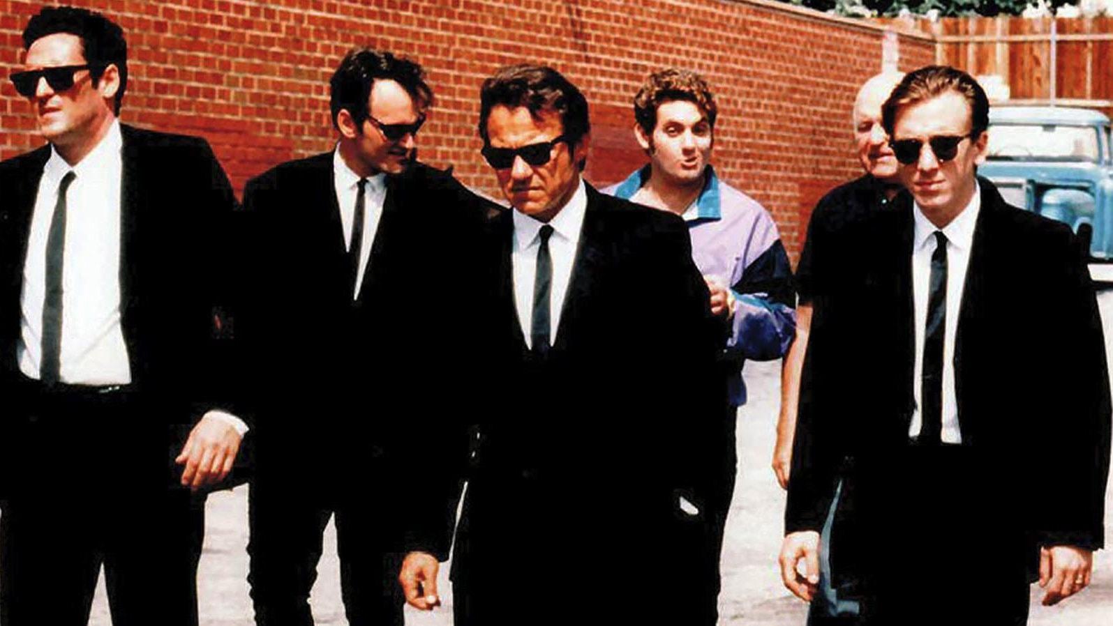 La bande des gangsters dans Reservoir Dogs
