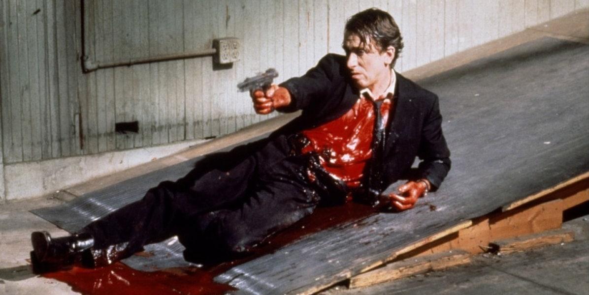 Mr. Orange (Tim Roth) ensanglanté dans Reservoir Dogs