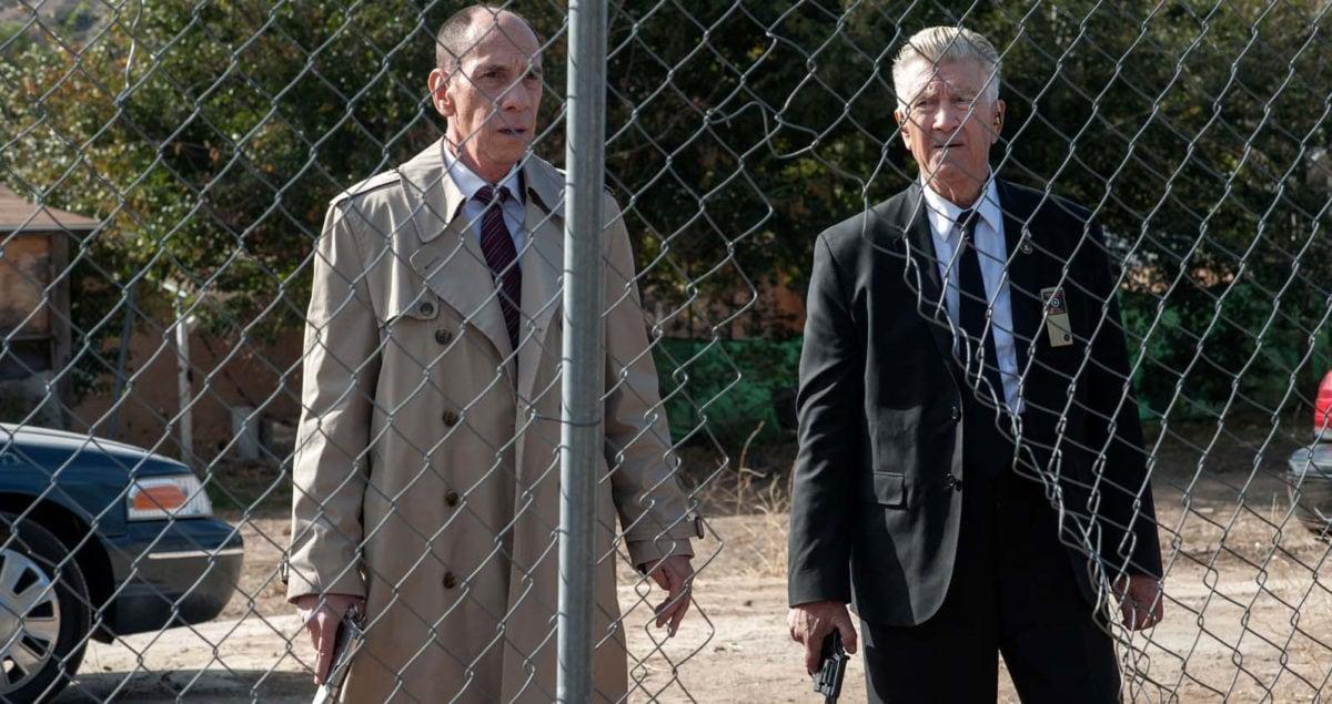 Miguel Ferrer et David Lynch dans Twin Peaks : The Return