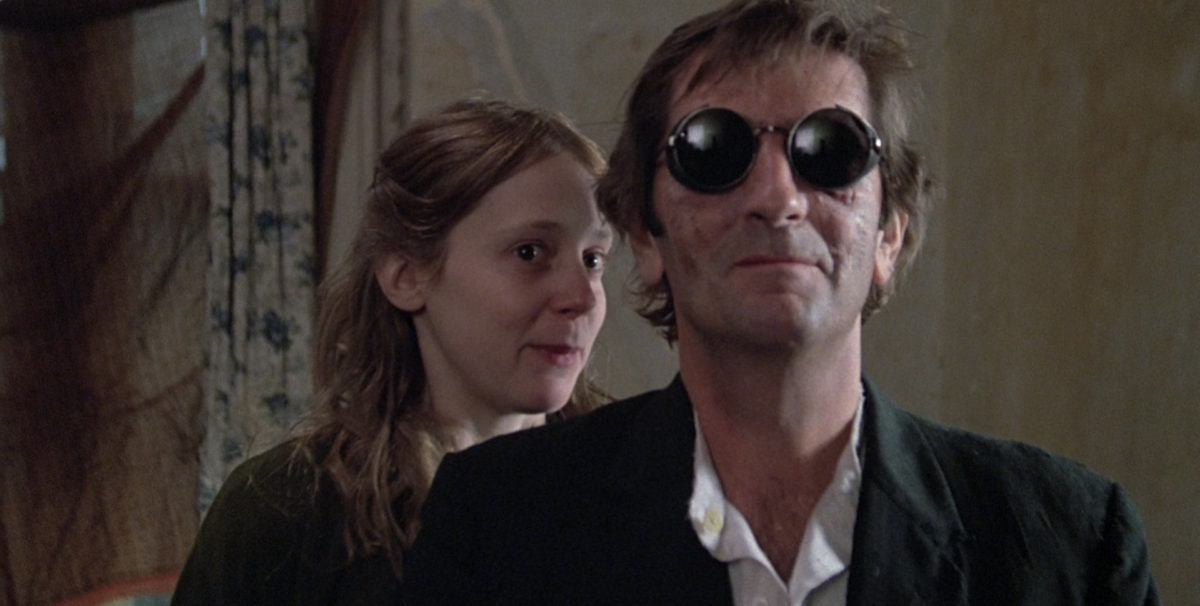 Harry Dean Stanton et Amy Wright dans Le Malin