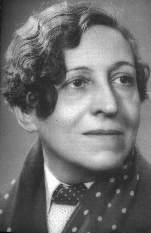 Portrait de Germaine Dulac