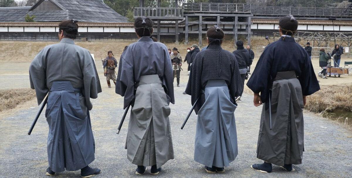 Les samouraïs dans Extro