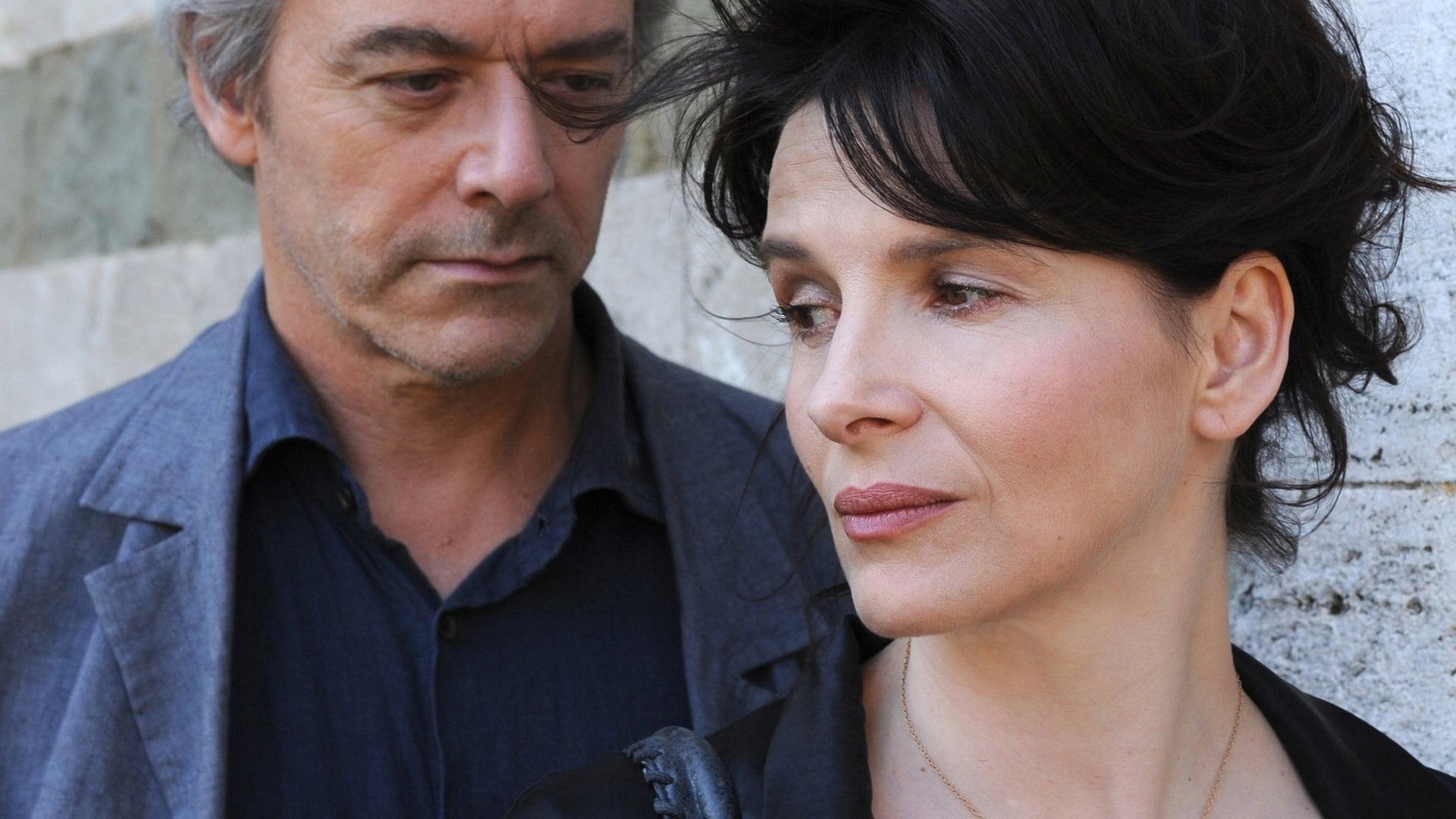Juliette Binoche et William Shimell dans Copie conforme