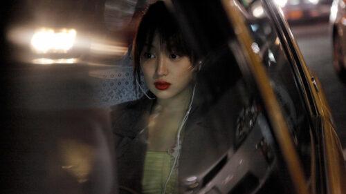 Rin Takanashi dans une voiture dans Like Someone in Love