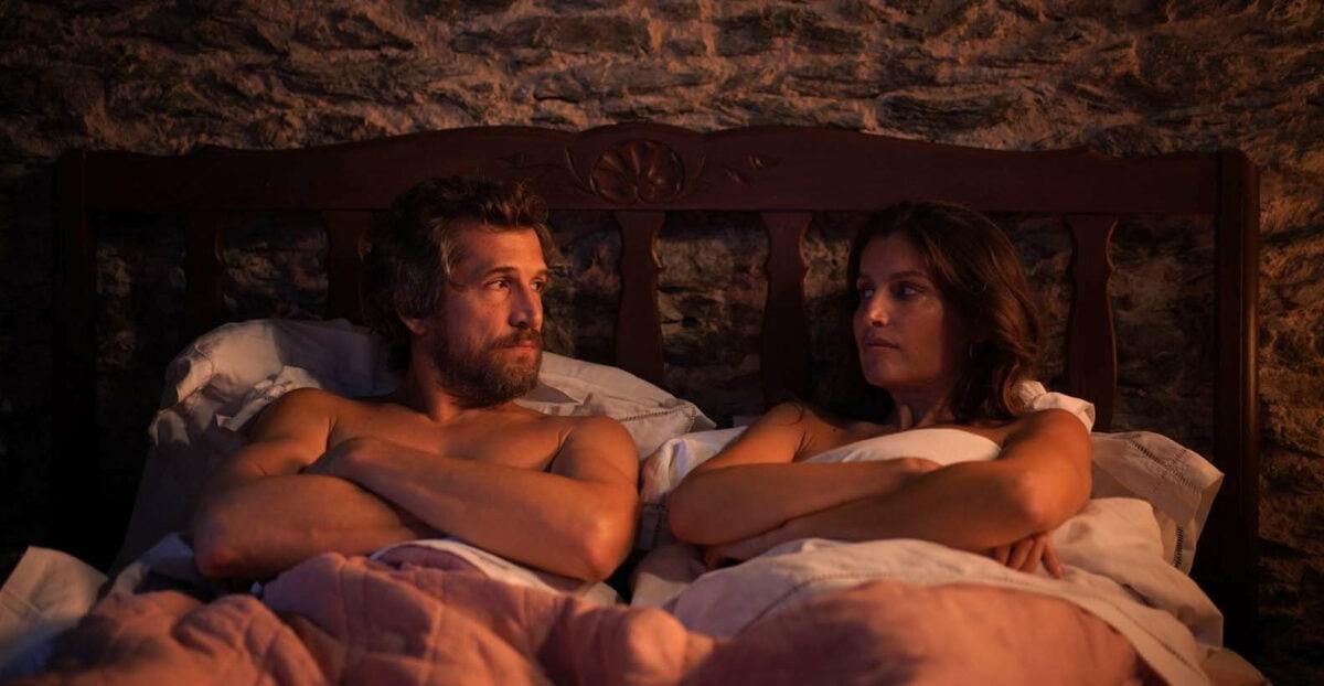 Guillaume Canet au lit avec son amante (Laetitia Casta) dans Lui