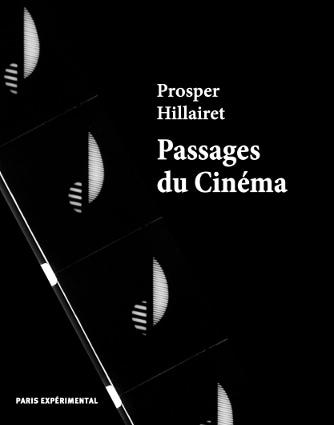 La couverture du livre Passages du Cinéma de Prosper Hillairet